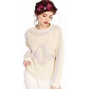 Wildfox Rainbow Twist Sweater (NWT)